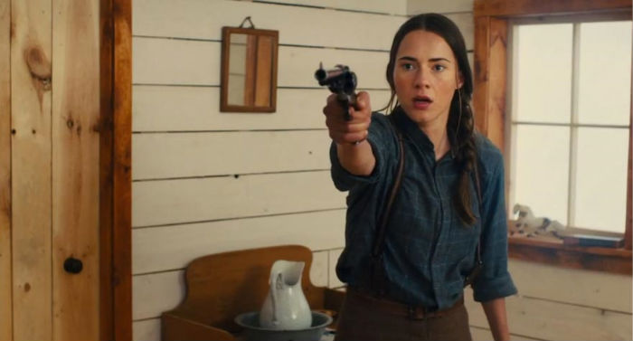Caren Pistorius, en 'Slow West'