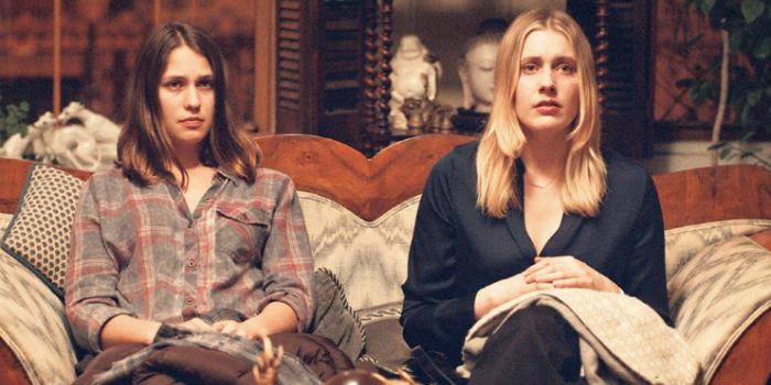 Greta Gerwig y Lola Kirke, en 'Mistress America'