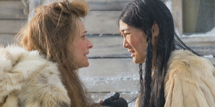 Juliette Binoche y Rinko Kikuchi, en 'Nadie quiere la noche'