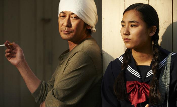 Masatoshi Nagase y Kyara Uchida, en 'An'