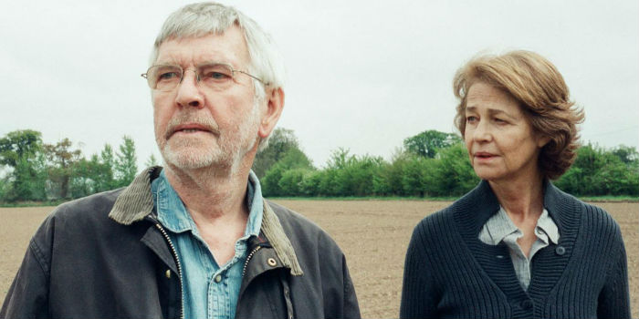 Tom Courtenay y Charlotte Rampling, en '45 Years'