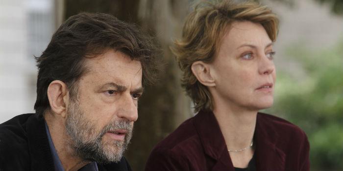 Nanni Moretti y Margherita Buy, en 'Mia madre'