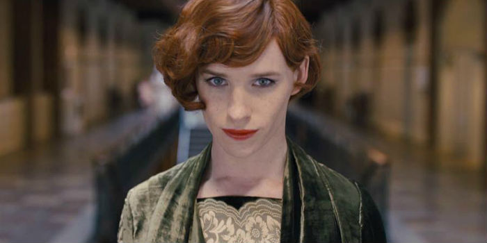Eddie Redmayne, en 'The Danish Girl'
