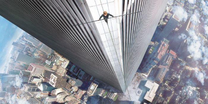 Joseph Gordon Levitt, en 'The Walk' (El desafío)