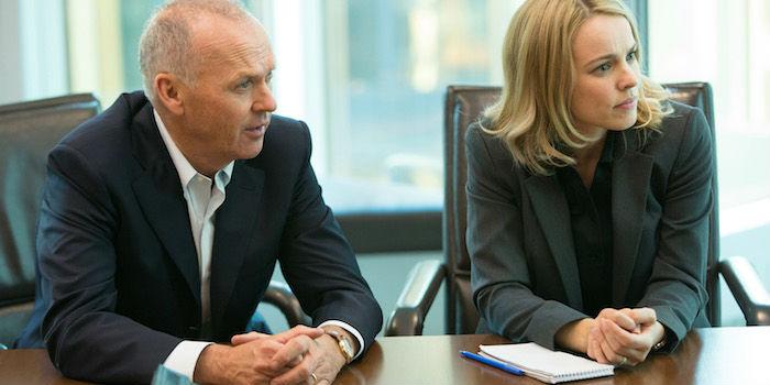 Michael Keaton y Rachel McAdams, en 'Spotlight'