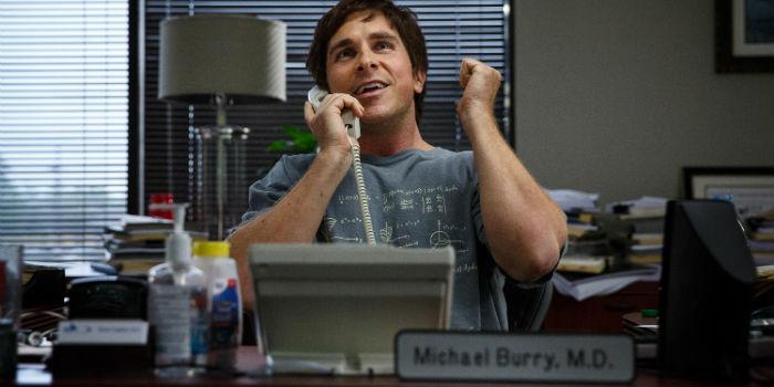 Christian Bale, en 'The Big Short' (La gran apuesta)