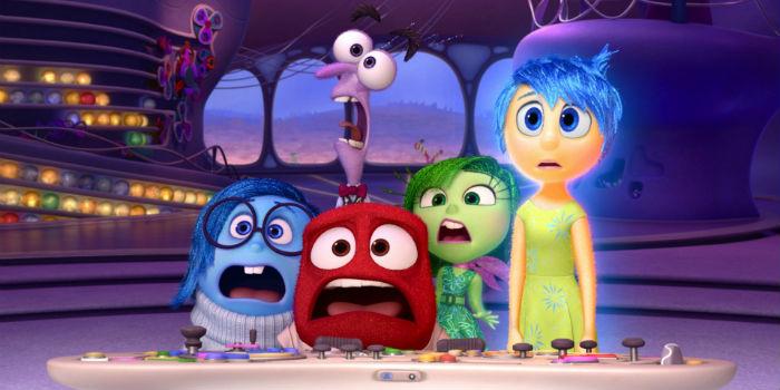 'Inside Out' (Del revés), en Histerias de Cine