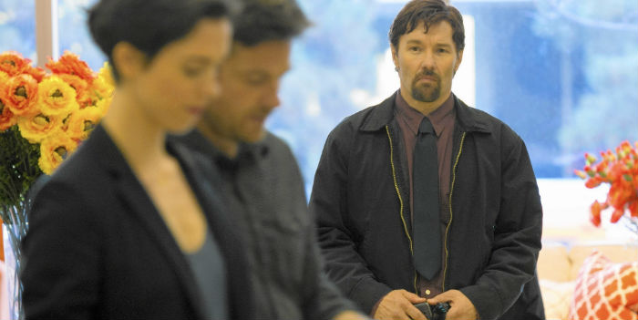 Rebecca Hall, Jason Bateman y Joel Edgerton, en 'The Gift' (El regalo)
