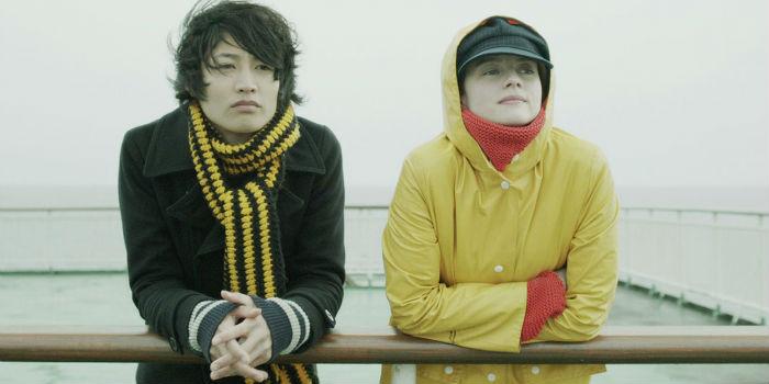Taichi Inoue y Pauline Etienne, en Tokyo Fiancée (Romance en Tokio)
