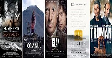 Nominaciones a los III Premios PLATINO (2016), en Histerias de Cine