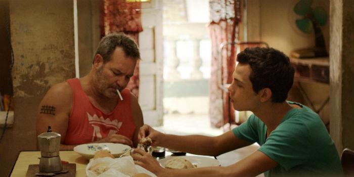 Jorge Perugorría y Héctor Medina, en 'Viva'