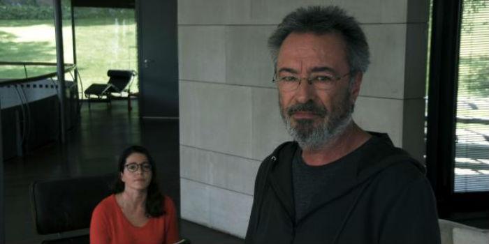 Nora Navas y Óscar Martínez, en 'El ciudadano iluste', en Histerias de Cine