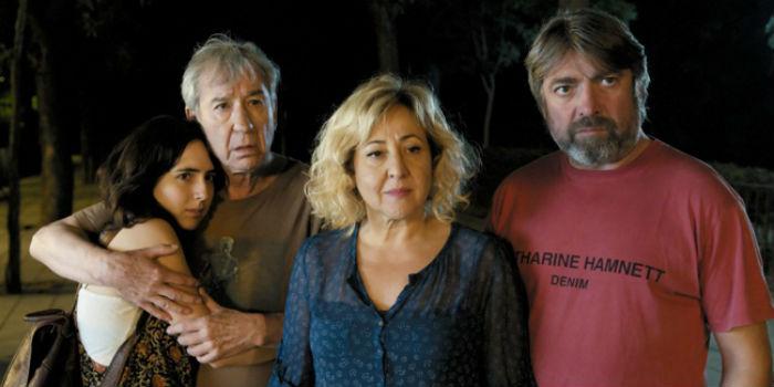 Macarena Sanz, José Sacristán, Carmen Machi y Pere Arquillué, en 'Las Furias', en Histerias de Cine