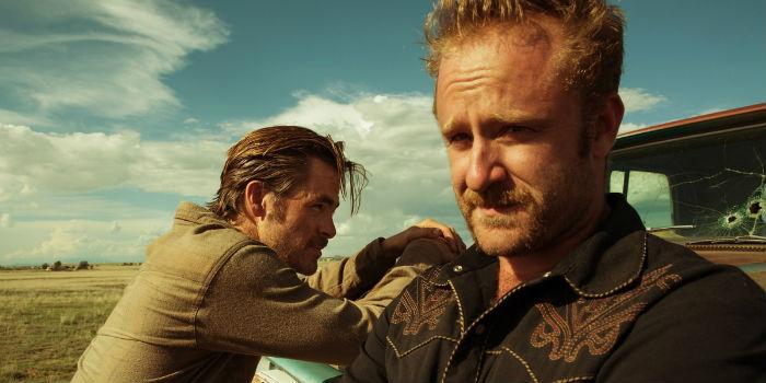 Chris Pine y Ben Foster, en 'Hell or High Water' (Comanchería), en Histerias de Cine