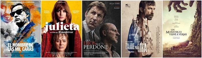 31 Premios Goya (2017): Nominaciones, en Histerias de Cine