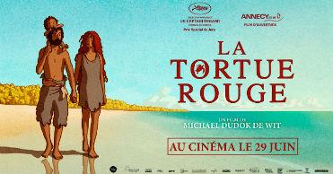 La tortue rouge (La tortuga roja / レッドタートル ある島の物語), en Histerias de Cine
