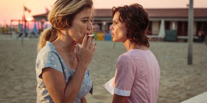 Valeria Bruni Tedeschi y Micaela Ramazzotti, en 'La pazza gioia' (Locas de alegría), en Histerias de Cine