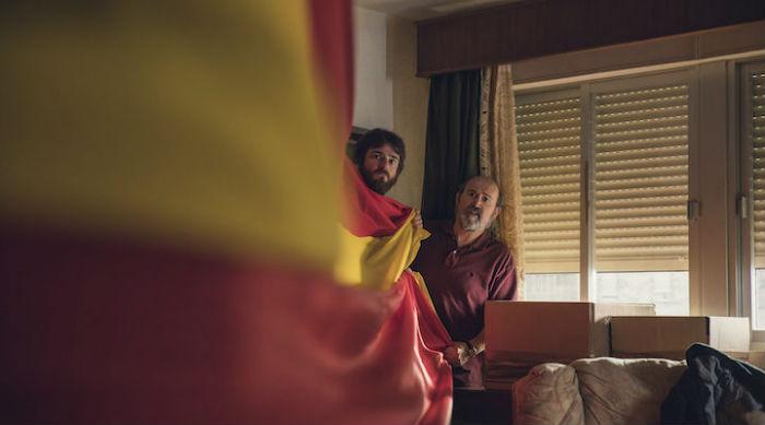 Gorka Otxoa y Javier Cámara, en 'Fe de etarras', en Histerias de Cine