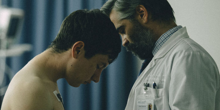 Barry Keoghan y Colin Farrell, en 'The Killing of a Sacred Deer' (El sacrificio de un ciervo sagrado), en Histerias de Cine