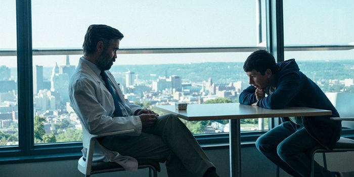 Colin Farrell y Barry Keoghan, en 'The Killing of a Sacred Deer' (El sacrificio de un ciervo sagrado), en Histerias de Cine
