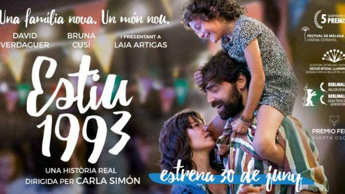 'Estiu 1993' (Verano 1993), en Histerias de Cine
