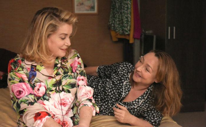 Catherine Deneuve y Catherine Frot, en 'Sage femme' (Dos mujeres), en Histerias de Cine