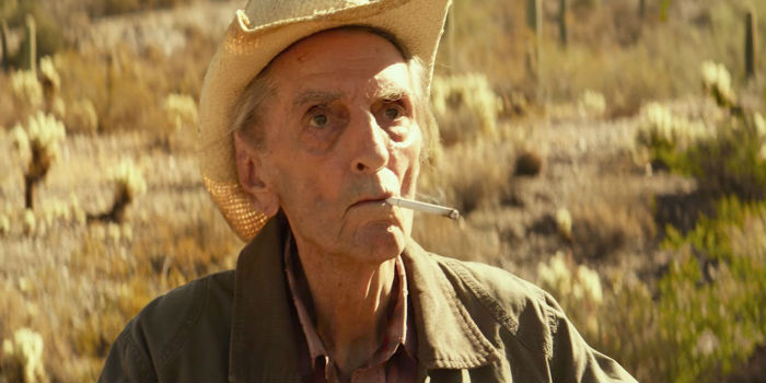 Harry Dean Stanton, en 'Lucky', en Histerias de Cine