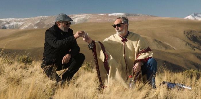 Guillermo Francella y Luis Brandoni, en 'Mi obra maestra', en Histerias de Cine