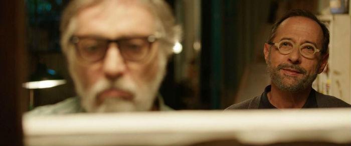 Luis Brandoni y Guillermo Francella, en 'Mi obra maestra', en Histerias de Cine