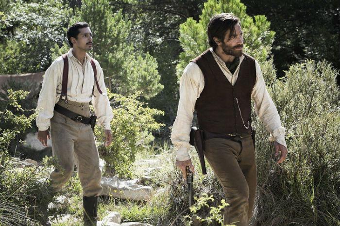 Riz Ahmed y Jake Gyllenhaal, en 'Les frères Sisters' (The Sisters Brothers / Los hermanos Sisters), en Histerias de Cine