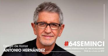 64 Seminci (2019): Antonio Hernández, Espiga de Honor, en Histerias de Cine