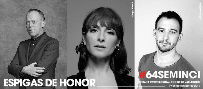 64 Seminci (2019): Alejandro Amenábar, Najwa Nimri y Luis San Narciso, Espigas de Honor, en Histerias de Cine