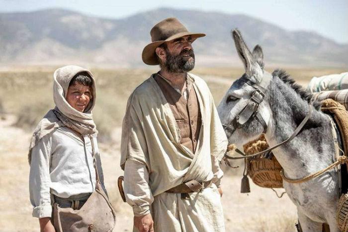 Jaime López y Luis Tosar, en 'Intemperie', en Histerias de Cine