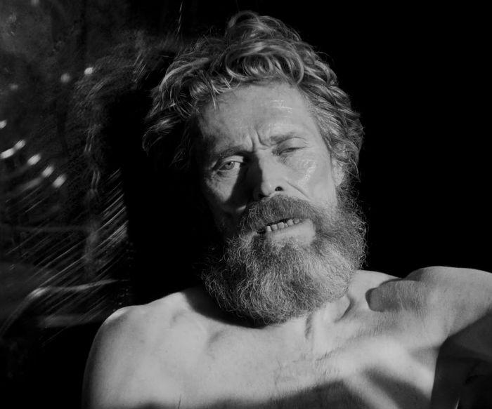 Willem Dafoe, en 'The Lighthouse' (El faro), en Histerias de Cine