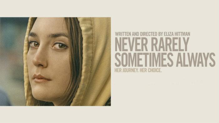 'Never Rarely Sometimes Always' (Nunca, casi nunca, a veces, siempre), en Histerias de Cine
