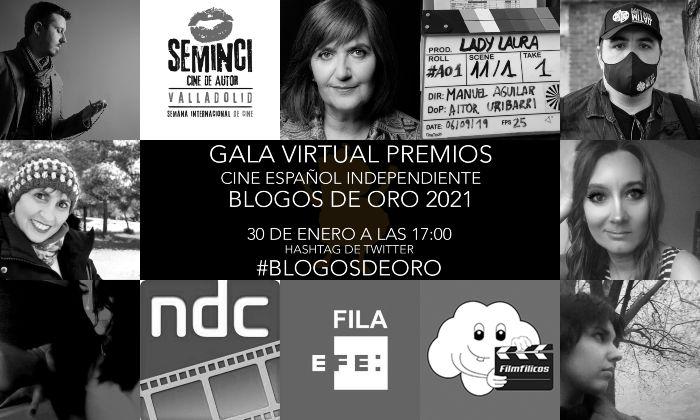 VIII Blogos de Oro (2021): Gala Virtual, en Histerias de Cine