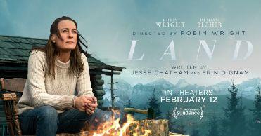 'Land' (En un lugar salvaje), en Histerias de Cine